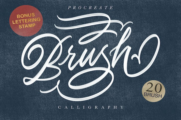 Thumbnail for Procreate Brush Calligraphy