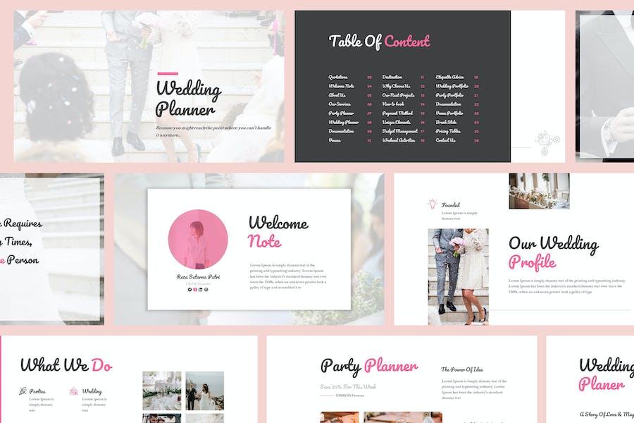 Wedding Organizer Powerpoint Template