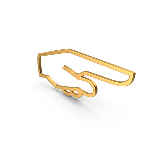 Символ ручного курсора Золото