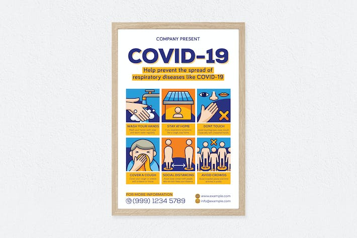 Thumbnail for Covid-19 Poster