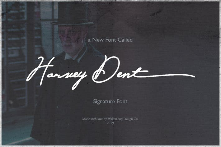 Thumbnail for Harvey Dent Signature