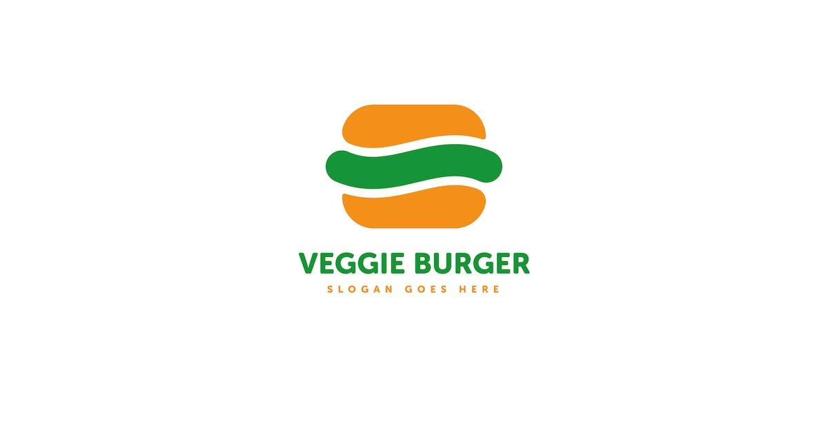 Download Veggie Burger Logo Template by Pixasquare