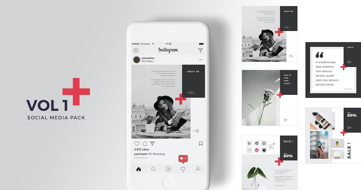 Download Social Media Pack Vol. 1 by graphix_shiv