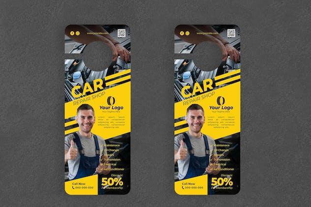 Car Repair Door Hanger Creative Promotion