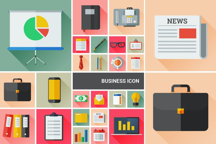 Thumbnail for Business flat icon