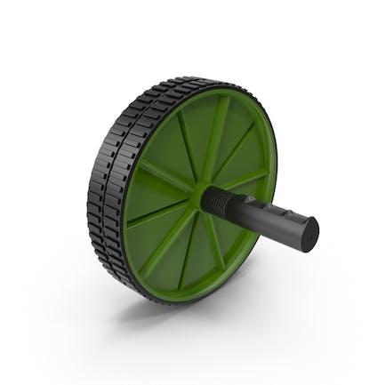 Ab Roller Wheel Green