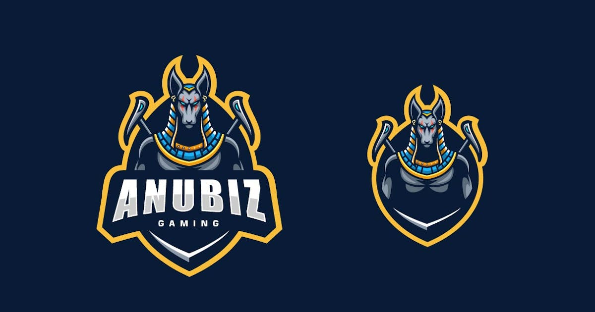 Download Anubis Sports and E-sports Style Logo Template by ivan_artnivora