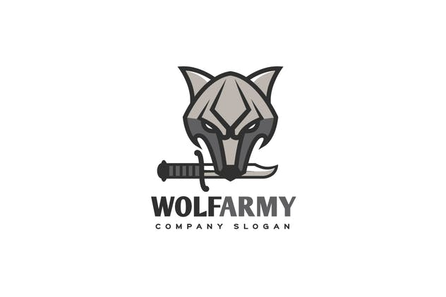 Wolf Army Logo - product preview 0