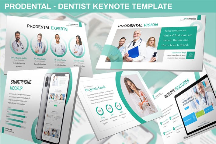 Cover Image For Prodental - Dentist Keynote Template