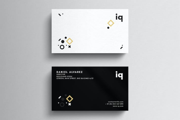 Thumbnail for Minimal Agency Business Card