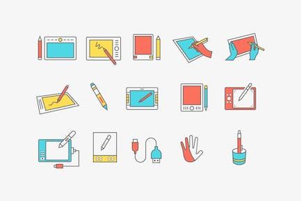 15 Grafiken ablet-SIcons