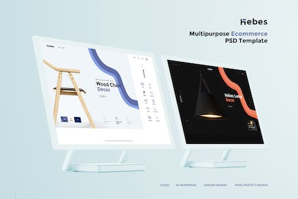 HEBES - Multipurpose Ecommerce PSD Template