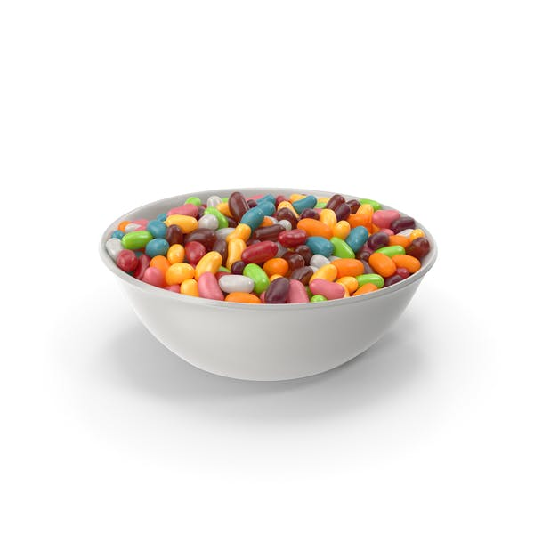 Bowl with Jelly beans