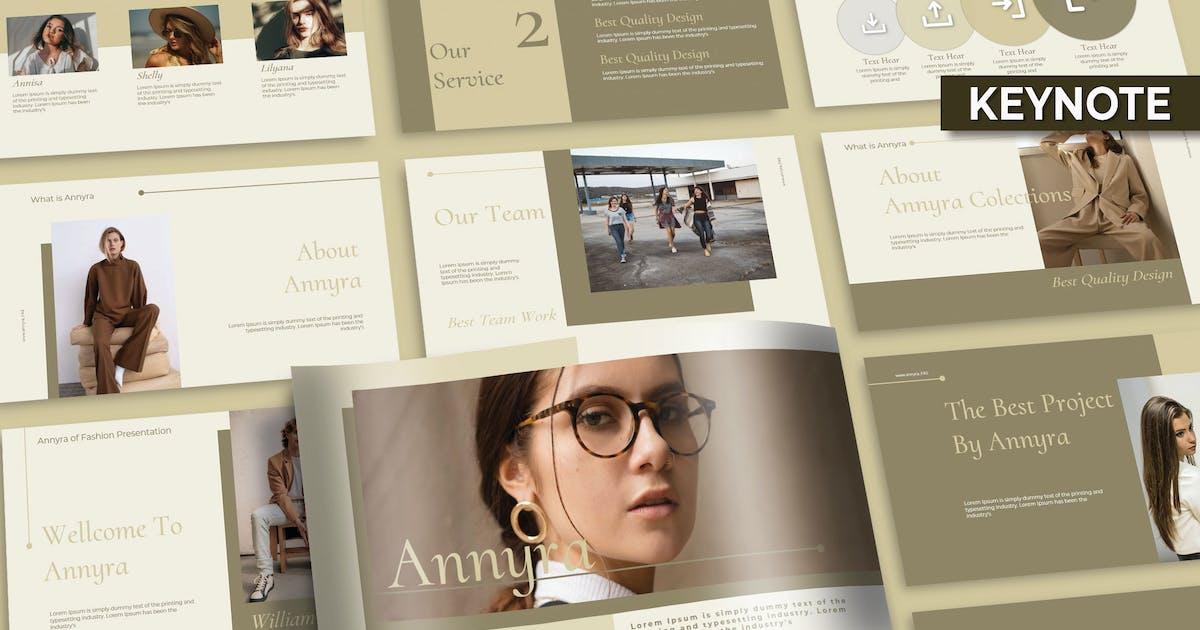 Download ANNYRA FASHIONN - KEYNOTE TEMPLATE by joelmaker