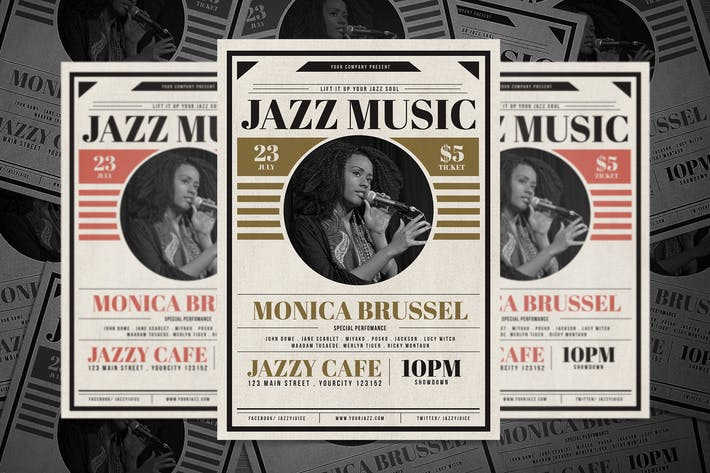Thumbnail for Classic Jazz Flyer