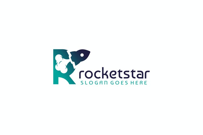 Thumbnail for Rocket-Letter R Logo