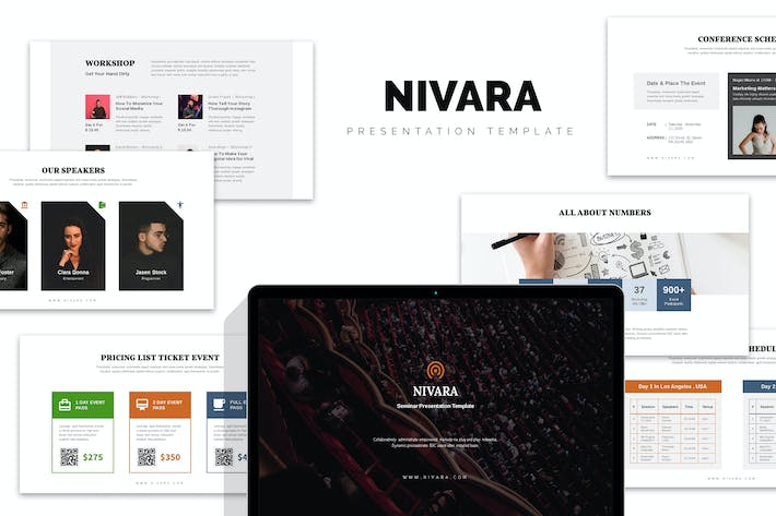 Thumbnail for Nivara : Conference, Seminar, Event Powerpoint