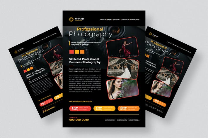Thumbnail for Fotografie Flyer Design