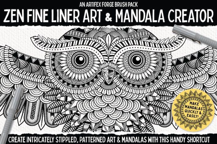 Thumbnail for Zen Fine Liner Art & Mandala Creator