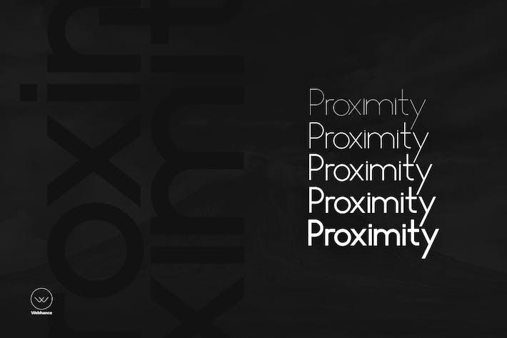 Thumbnail for Proximity Sans - Unique Typeface + Webfonts