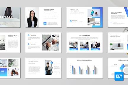 Marketplace - Business Proposal (Keynote)