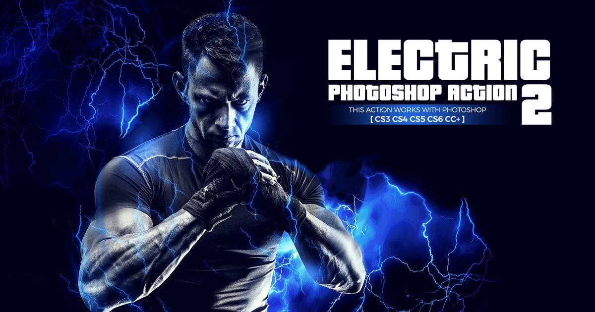 Download Electric 2 Photoshop Action by Hemalaya1