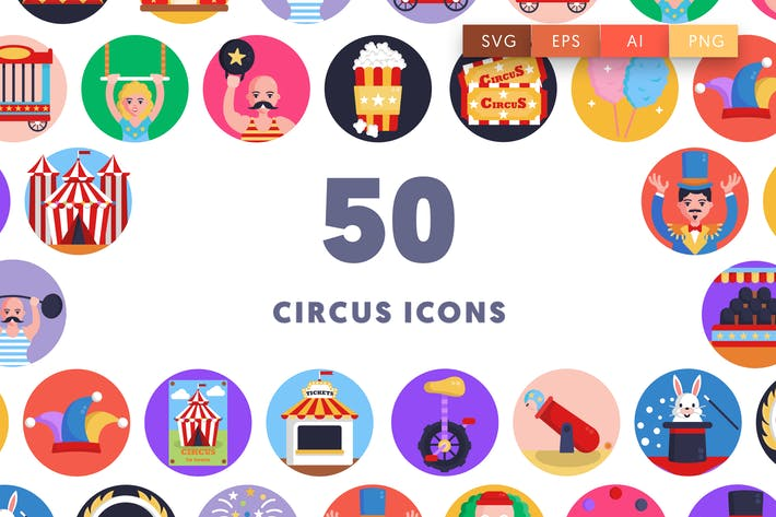 Thumbnail for Circus Icons