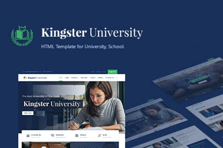 Kingster - Education HTML Template