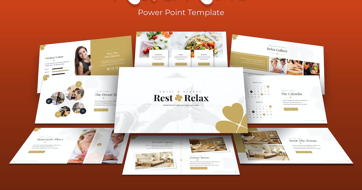 Download Rest & Relax - Power Point Template by IanMikraz