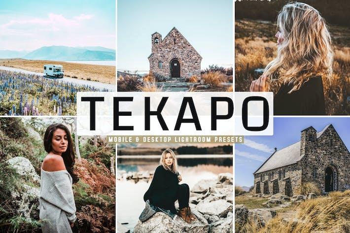 Thumbnail for Tekapo Mobile & Desktop Lightroom Presets