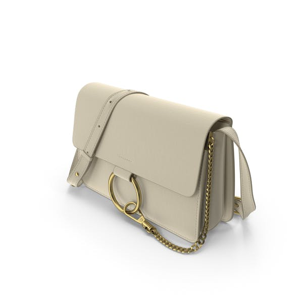 Beige Women Cross-body Shoulder Purse  Bag