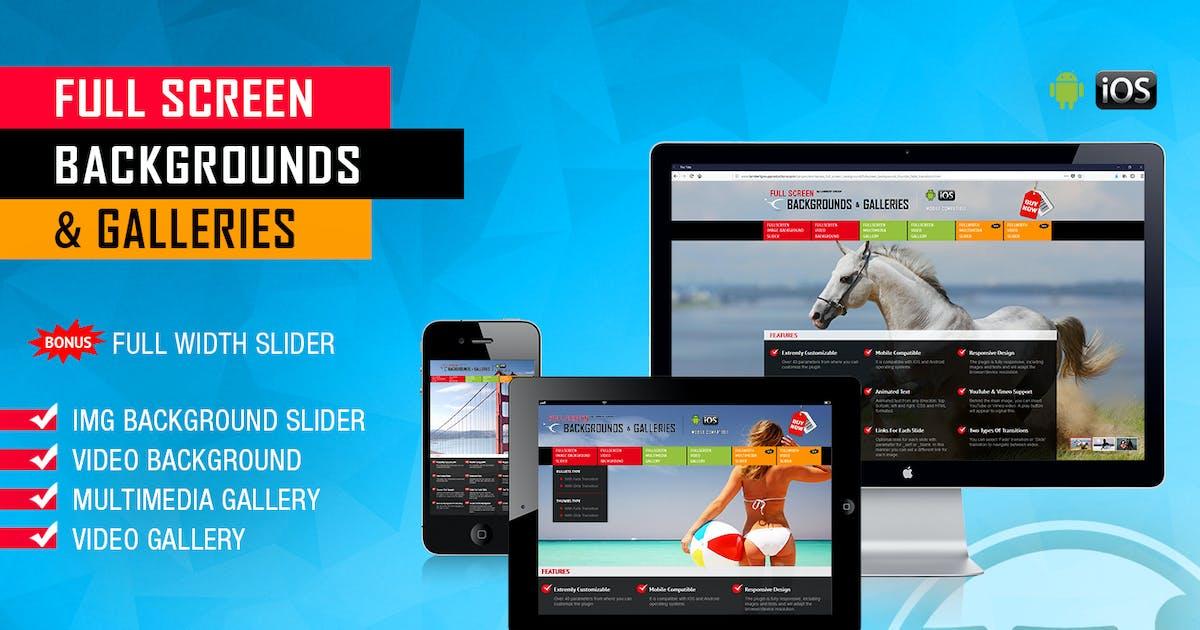 Download Image and Video FullScreen Background WP Plugin by LambertGroup