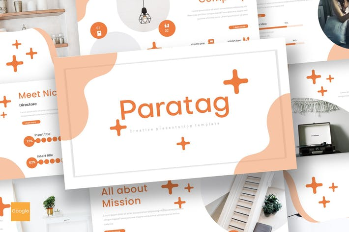 Thumbnail for Paratag - Google Slides Template