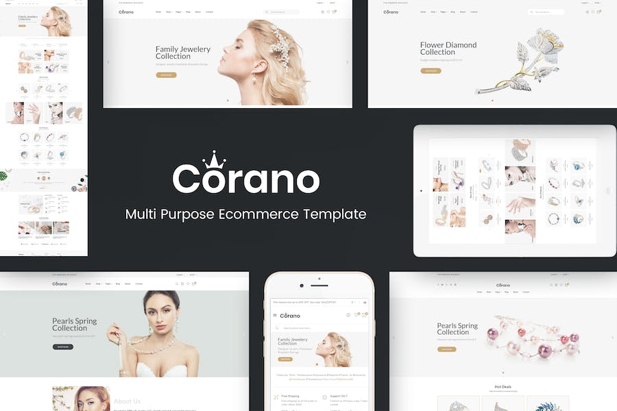 Corano - Jewellery Responsive Prestashop Theme - product preview 0