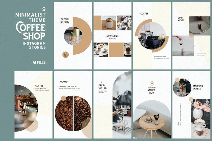 Thumbnail for Minimalist Theme - Coffee Shop Instagram Stories