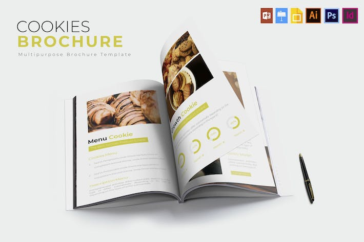 Thumbnail for Cookies | Brochure Template