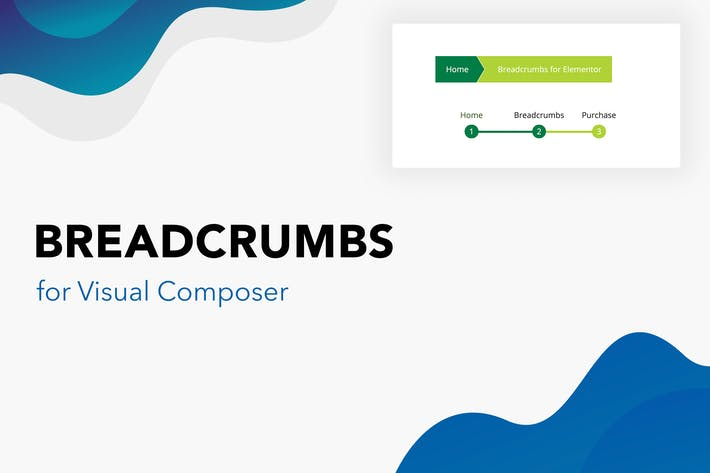 Thumbnail for Breadcrumbs for Visual Composer