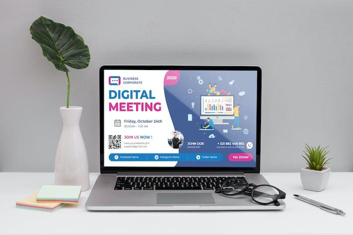 Business Event Digital Poster Flyer