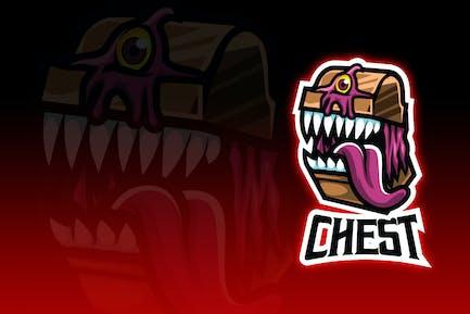Chest Monster Esport Logo