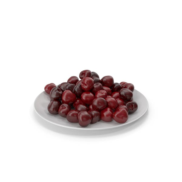 Thumbnail for Cherries in a Plate