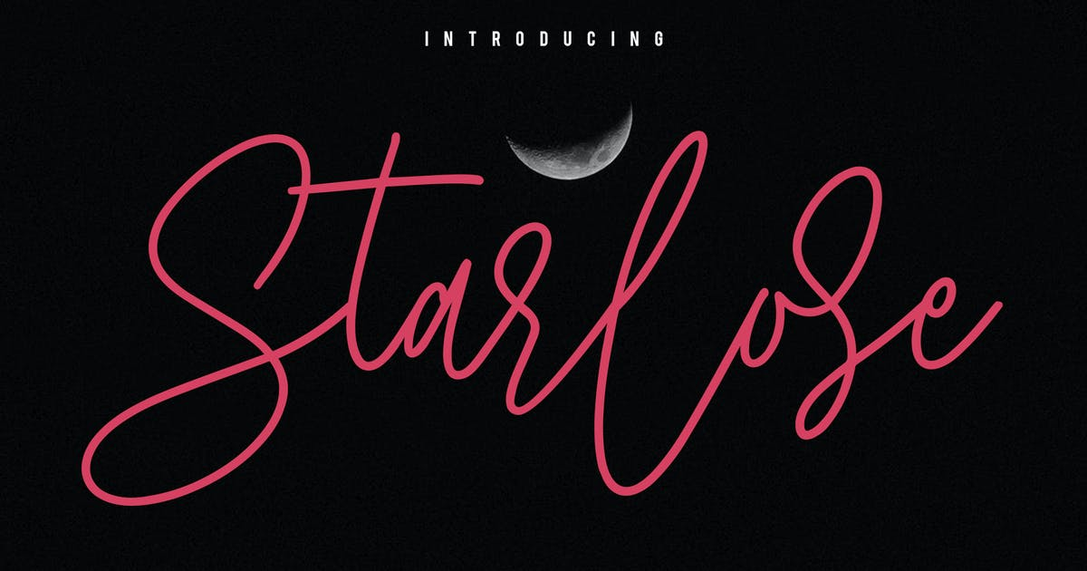 Download Starlose Signature Font by maulanacreative