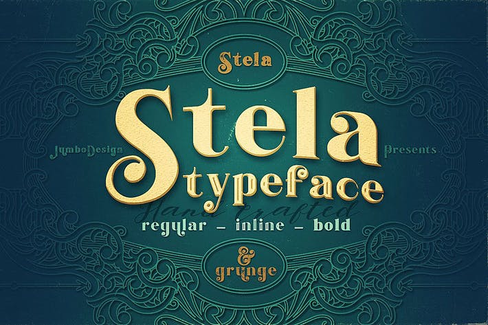 Cover Image For Stela - Display Font