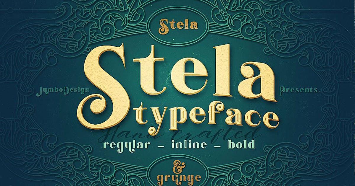 Download Stela - Display Font by cruzine
