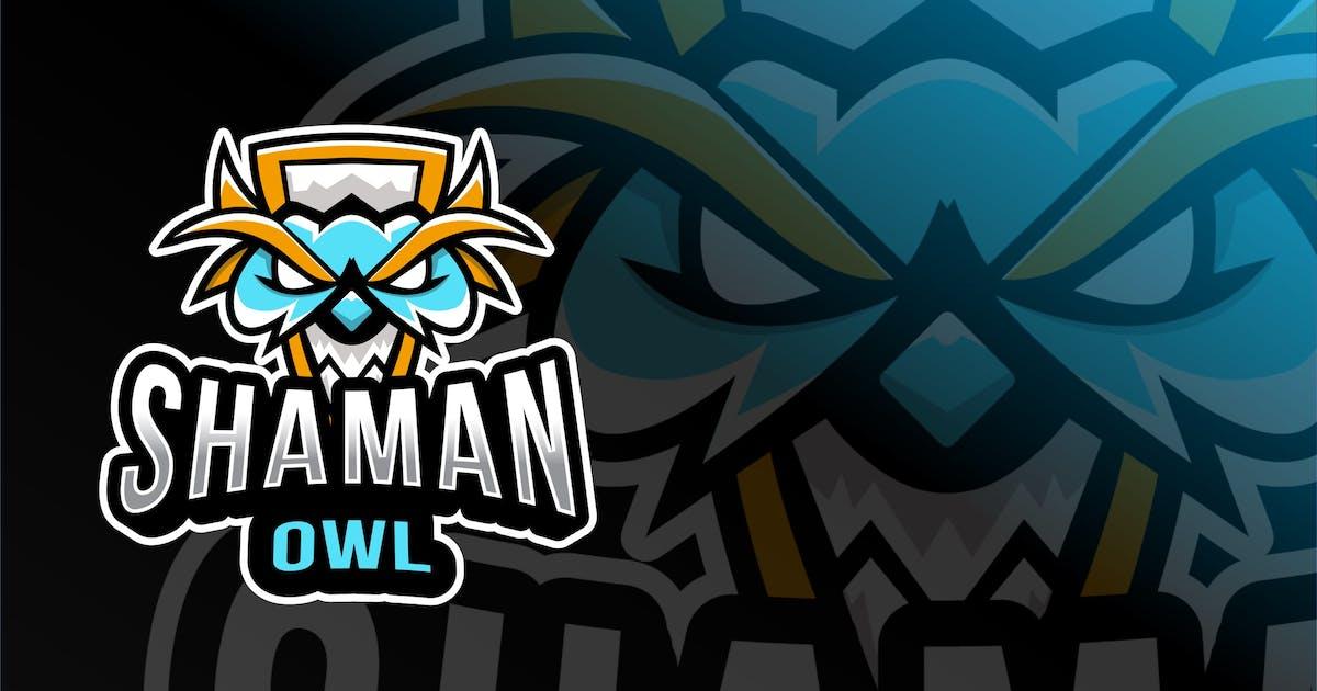 Download Shaman Owl Esport Logo Template by IanMikraz