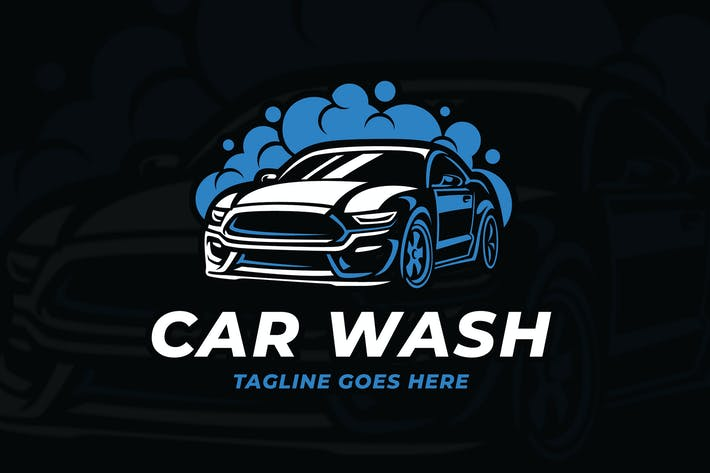 Thumbnail for Car Wash Elegant Logo Template