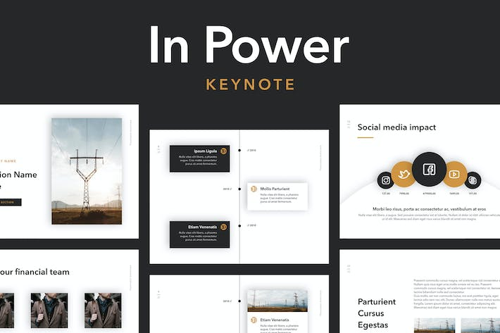 In Power Keynote Template