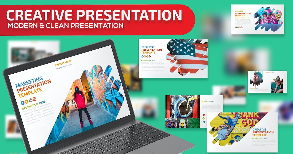 Download Creative Powerpoint Presentation Template by mamanamsai