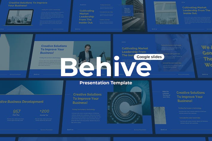 Behive - Google Slides Template