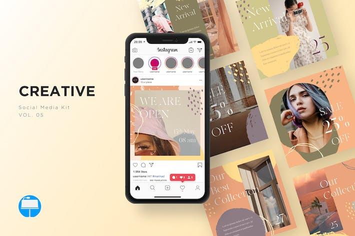 Thumbnail for Набор креативных социальных сетей, том 05 - Keynote