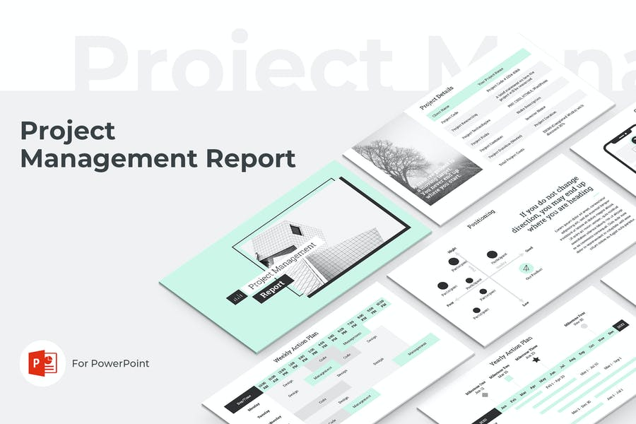 Project Management Report PowerPoint